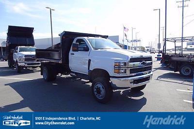 2021 Silverado 4500 Regular Cab DRW 4x4,  Monroe Truck Equipment MTE-Zee Dump Body #CM62951 - photo 1