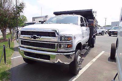 2021 Silverado 4500 Crew Cab DRW 4x4,  Reading Landscaper SL Landscape Dump #CM64141 - photo 4