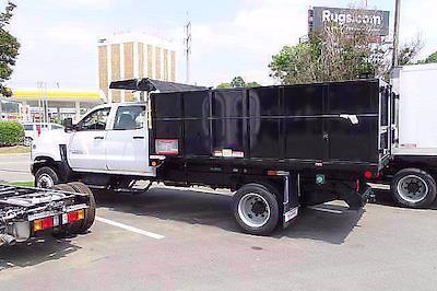 2021 Silverado 4500 Crew Cab DRW 4x4,  Reading Landscaper SL Landscape Dump #CM64141 - photo 5