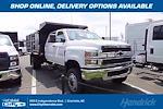 2021 Silverado 4500 Crew Cab DRW 4x4,  Reading Landscaper SL Landscape Dump #CM64141 - photo 1