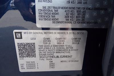 2020 Chevrolet Silverado 1500 Crew Cab 4x4, Pickup #CM66153A - photo 44