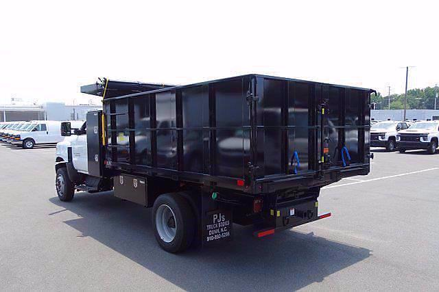 2021 Chevrolet Silverado 5500 Regular Cab DRW 4x4, PJ's Landscape Dump #CM74933 - photo 4