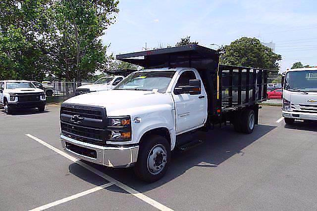2021 Silverado 5500 Regular Cab DRW 4x2,  PJ's Truck Bodies Landscape Dump #CM75181 - photo 3