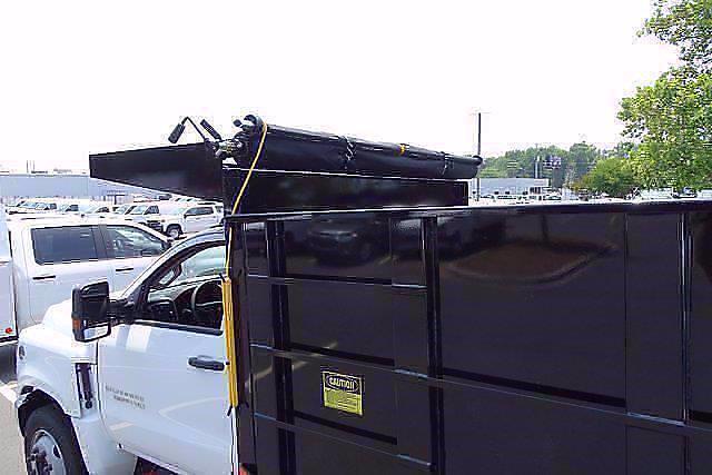 2021 Silverado 5500 Regular Cab DRW 4x2,  PJ's Truck Bodies Landscape Dump #CM75181 - photo 6