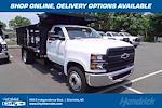 2021 Silverado 5500 Regular Cab DRW 4x2,  PJ's Truck Bodies Landscape Dump #CM75181 - photo 1