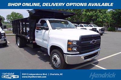 2021 Chevrolet Silverado 5500 Regular Cab DRW 4x2, PJ's Landscape Dump #CM75182 - photo 1