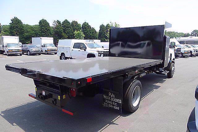 2021 Silverado 5500 Regular Cab DRW 4x4,  PJ's Truck Bodies Landscape Dump #CM75630 - photo 3