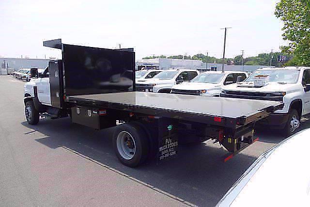 2021 Silverado 5500 Regular Cab DRW 4x4,  PJ's Truck Bodies Landscape Dump #CM75630 - photo 2