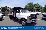 2021 Silverado 5500 Regular Cab DRW 4x4,  PJ's Truck Bodies Landscape Dump #CM75630 - photo 1