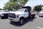 2021 Silverado 5500 Regular Cab DRW 4x4,  PJ's Truck Bodies Landscape Dump #CM75630 - photo 4