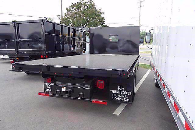 2021 Silverado 5500 Regular Cab DRW 4x2,  PJ's Truck Bodies Platform Body #CM75636 - photo 2