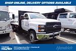2021 Silverado 5500 Regular Cab DRW 4x2,  PJ's Truck Bodies Platform Body #CM75636 - photo 1