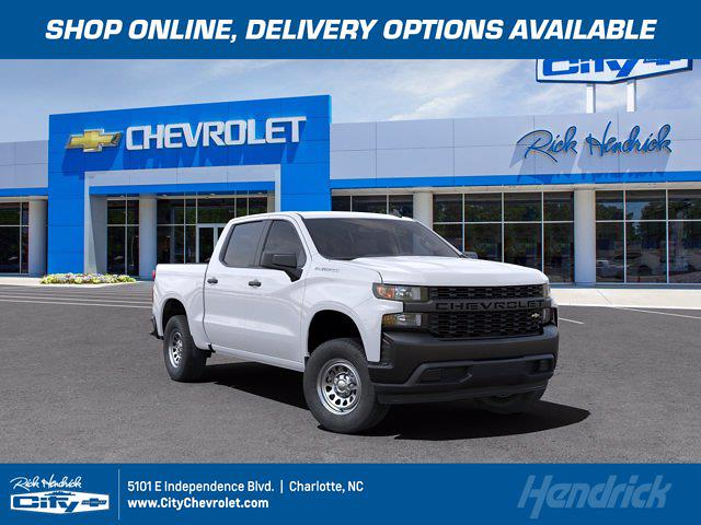 2021 Chevrolet Silverado 1500 Crew Cab 4x2, Pickup #CM87248 - photo 1