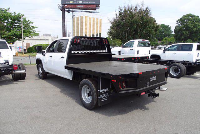 2021 Chevrolet Silverado 3500 Crew Cab 4x4, Knapheide PGNB Gooseneck Platform Body #CM96667 - photo 3