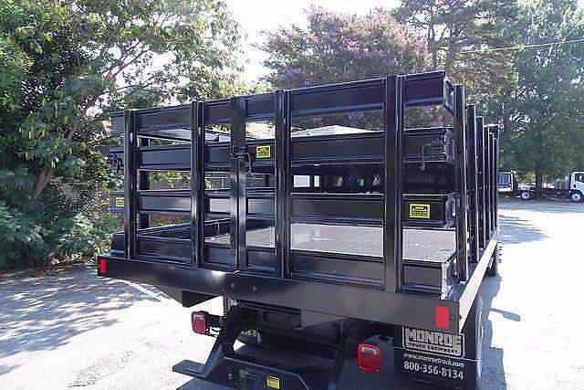 2021 Silverado 4500 Regular Cab DRW 4x4,  Monroe Truck Equipment Work-A-Hauler II Stake Bed #CM99143 - photo 6