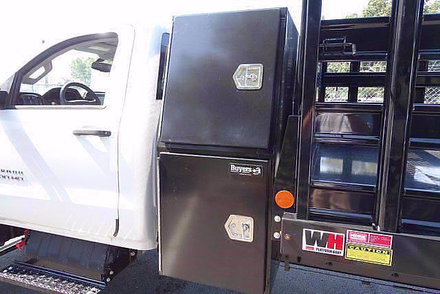 2021 Silverado 4500 Regular Cab DRW 4x4,  Monroe Truck Equipment Work-A-Hauler II Stake Bed #CM99143 - photo 8
