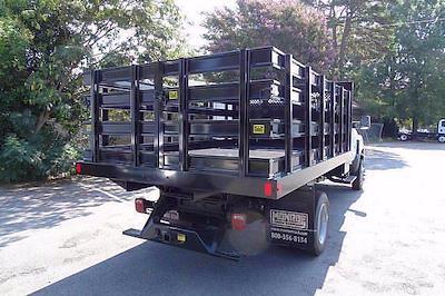 2021 Silverado 4500 Regular Cab DRW 4x4,  Monroe Truck Equipment Work-A-Hauler II Stake Bed #CM99143 - photo 3