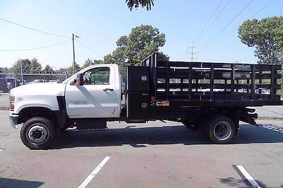 2021 Silverado 4500 Regular Cab DRW 4x4,  Monroe Truck Equipment Work-A-Hauler II Stake Bed #CM99143 - photo 5