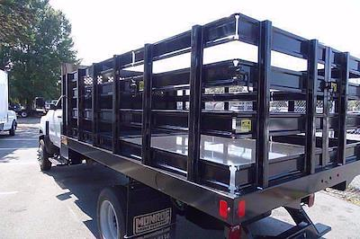 2021 Silverado 4500 Regular Cab DRW 4x4,  Monroe Truck Equipment Work-A-Hauler II Stake Bed #CM99143 - photo 7