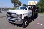 2021 Silverado 4500 Regular Cab DRW 4x4,  Monroe Truck Equipment Work-A-Hauler II Stake Bed #CM99143 - photo 4