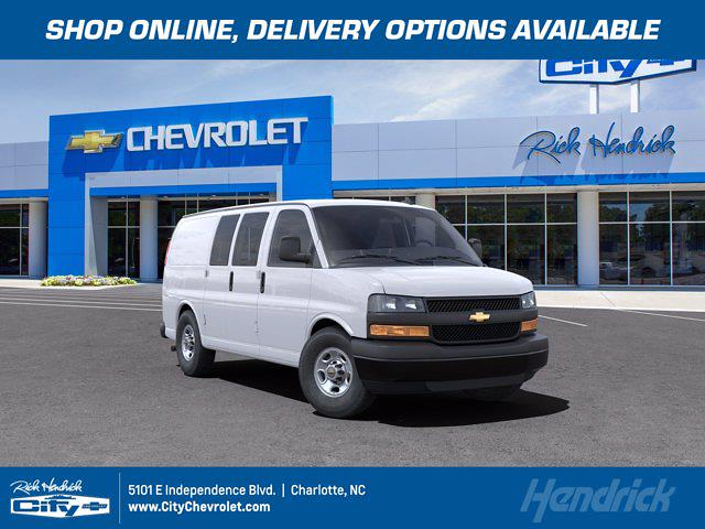 2021 Chevrolet Express 2500 4x2, Knapheide Upfitted Cargo Van #CM99678 - photo 1
