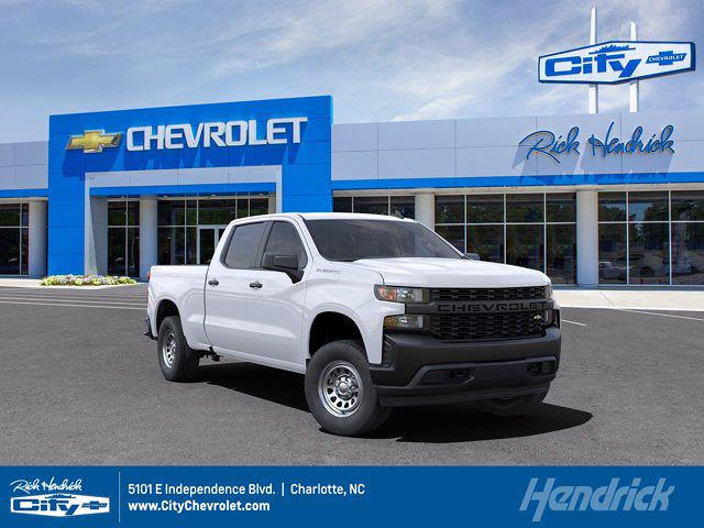 2021 Chevrolet Silverado 1500 Crew Cab 4x4, Pickup #CM99791 - photo 1