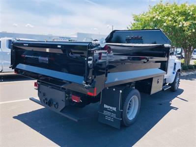 2019 Silverado Medium Duty DRW 4x2,  Knapheide Drop Side Dump Body #F805267 - photo 2