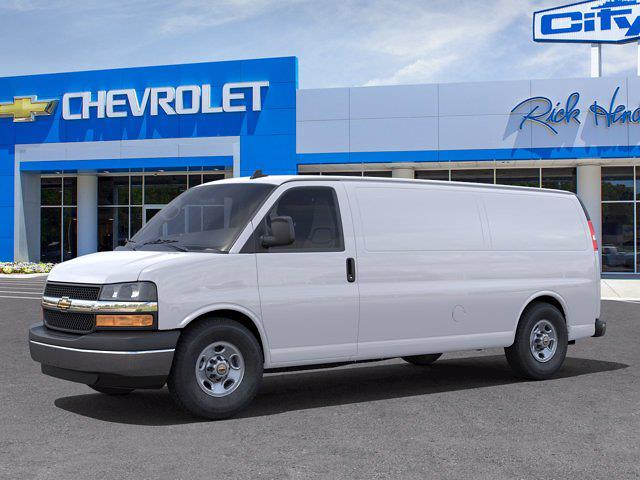 2021 Chevrolet Express 3500 4x2, Empty Cargo Van #FM0824 - photo 3