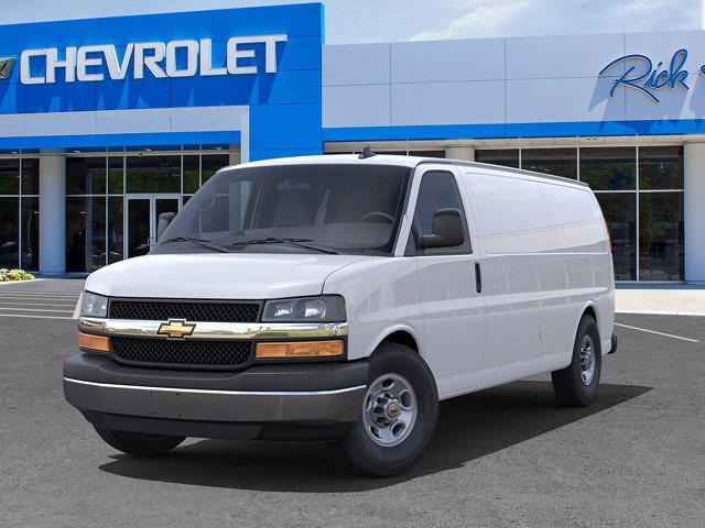 2021 Chevrolet Express 3500 4x2, Empty Cargo Van #FM0824 - photo 6