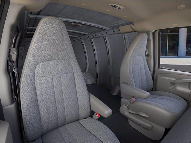 2021 Chevrolet Express 2500 4x2, Empty Cargo Van #FM34177 - photo 13