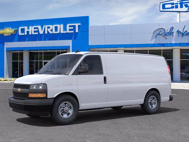 2021 Chevrolet Express 2500 4x2, Empty Cargo Van #FM34177 - photo 3