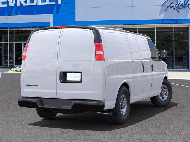 2021 Chevrolet Express 2500 4x2, Empty Cargo Van #FM34177 - photo 2