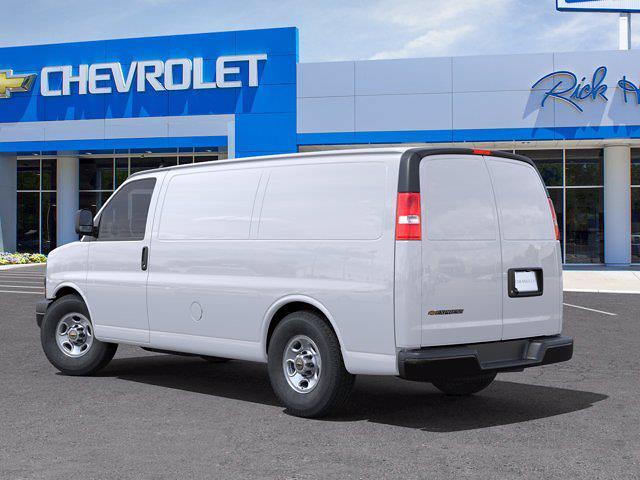 2021 Chevrolet Express 2500 4x2, Empty Cargo Van #FM34289 - photo 4