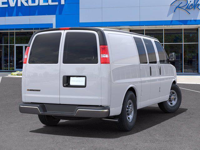 2021 Chevrolet Express 2500 4x2, Empty Cargo Van #FM40067 - photo 1
