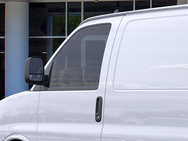 2021 Chevrolet Express 2500 4x2, Empty Cargo Van #FM51432 - photo 10