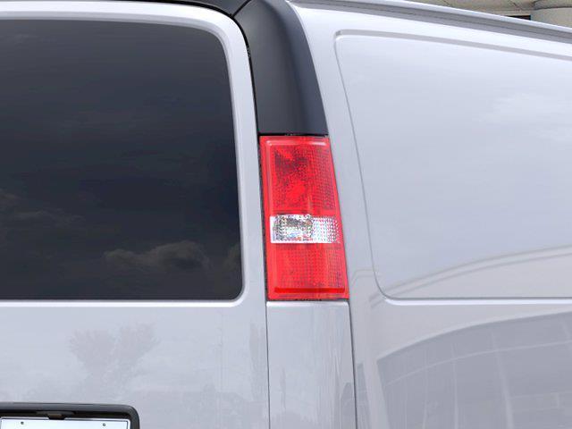 2021 Chevrolet Express 2500 4x2, Empty Cargo Van #FM51432 - photo 9