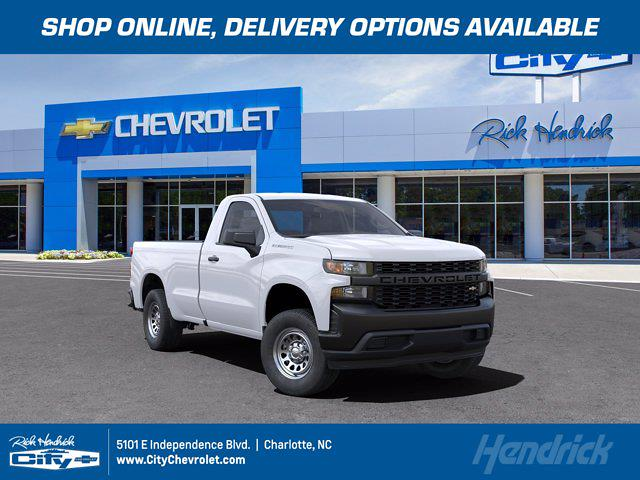 2021 Chevrolet Silverado 1500 Regular Cab 4x2, Pickup #FM52891 - photo 1