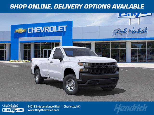 2021 Chevrolet Silverado 1500 Regular Cab 4x2, Pickup #FM64144 - photo 1