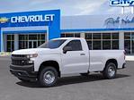 2021 Chevrolet Silverado 1500 Regular Cab 4x2, Pickup #FM65537 - photo 3