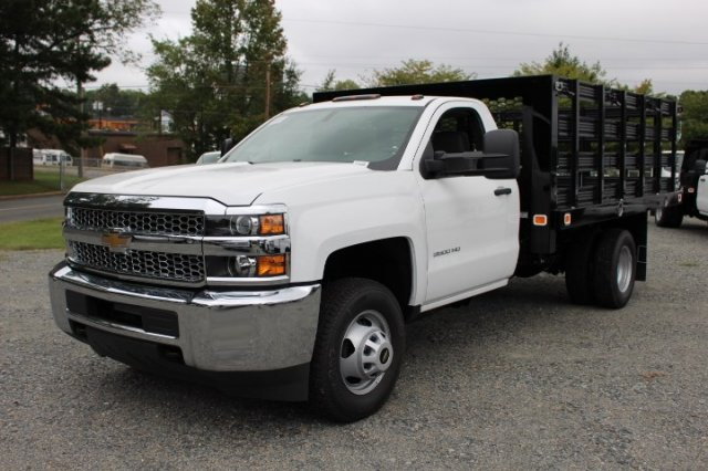 2019 Silverado 3500 Regular Cab DRW 4x2,  Stake Bed #M101164 - photo 3