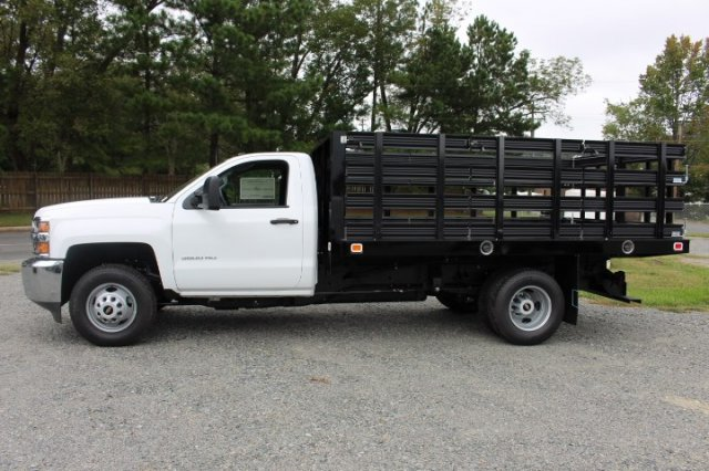 2019 Silverado 3500 Regular Cab DRW 4x2,  Stake Bed #M101164 - photo 4