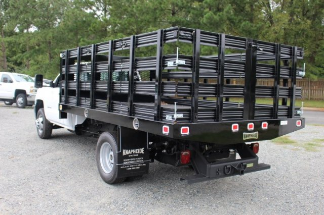 2019 Silverado 3500 Regular Cab DRW 4x2,  Stake Bed #M101164 - photo 5
