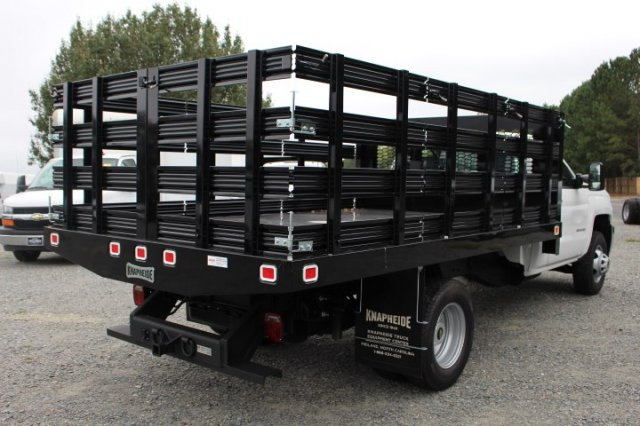 2019 Silverado 3500 Regular Cab DRW 4x2,  Stake Bed #M101164 - photo 2