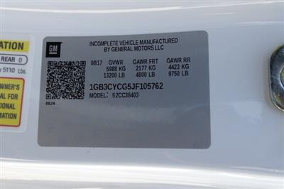 2018 Silverado 3500 Regular Cab DRW 4x2,  Freedom Workhorse Platform Body #M105762 - photo 20