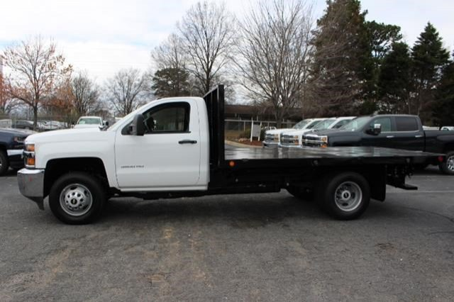 2018 Silverado 3500 Regular Cab DRW 4x2,  Freedom Workhorse Platform Body #M107913 - photo 9