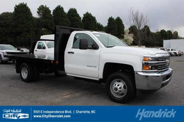 2018 Silverado 3500 Regular Cab DRW 4x2,  Freedom Workhorse Platform Body #M107913 - photo 1