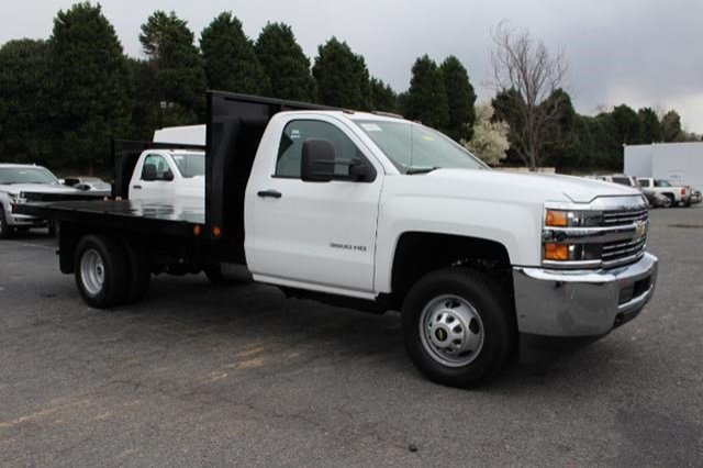 2018 Silverado 3500 Regular Cab DRW 4x2,  Freedom Workhorse Platform Body #M107913 - photo 3