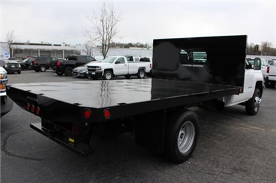 2018 Silverado 3500 Regular Cab DRW 4x2,  Freedom Workhorse Platform Body #M107913 - photo 2