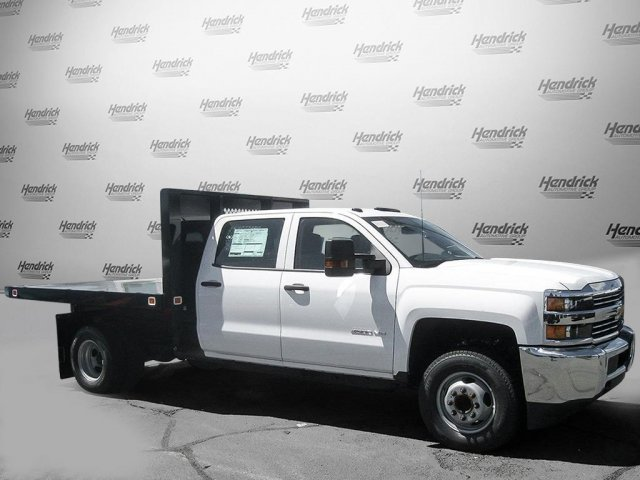 2017 Silverado 3500 Crew Cab DRW 4x2,  Knapheide Value-Master X Platform Body #M117462 - photo 6