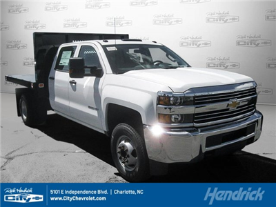 2017 Silverado 3500 Crew Cab DRW 4x2,  Knapheide Value-Master X Platform Body #M117462 - photo 1